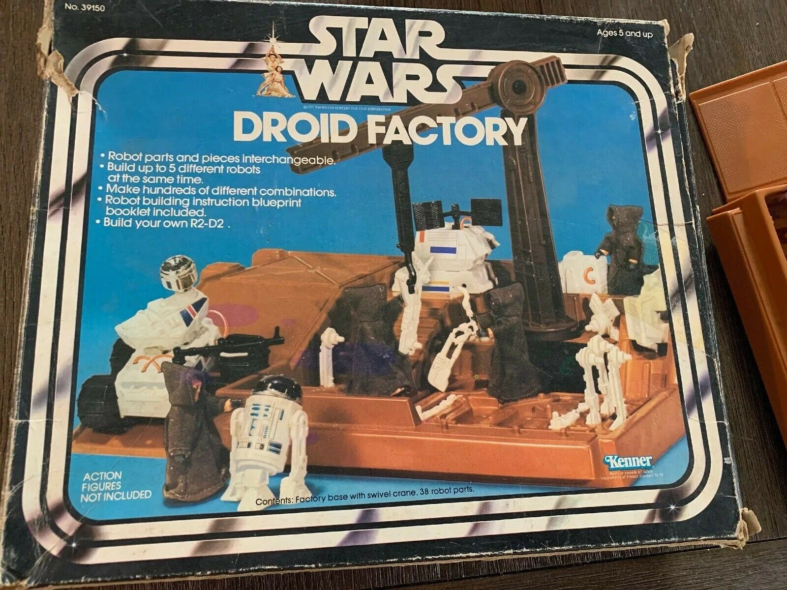 Vintage Star Wars DROID FACTORY NOT complete w   box Kenner 1979  qualité garantie