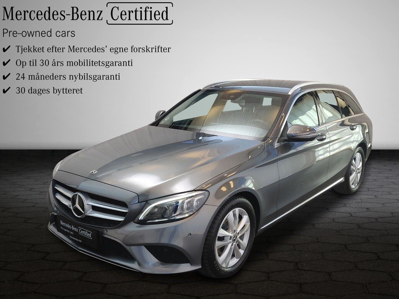 Mercedes C220 d 2,0 Avantgarde stc. aut. 5d - 474.900 kr.