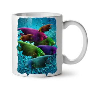Deep Sea Fish Wild NEW White Tea Coffee Mug 11 oz | Wellcoda
