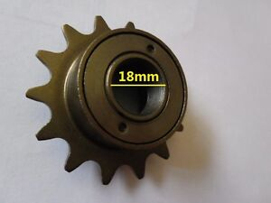 Bike mid drive trike sprocket 14t tooth threaded for Freewheel sprocket for electric motor
