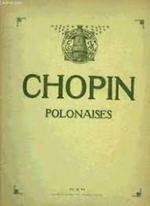 Chopin polonaises (Wurmser) Editions Heugel