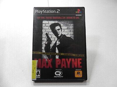 Max Payne Ps2 Playstation 2 Game 710425270864 Ebay