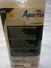 Aqua-Pure Premium Filter Cartridge AP110 8 gpm, 50 mic 2-Pak Heavy Sediment