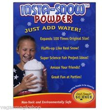 Insta-Snow Powder 40 Gram Bag - Add Water Fluffs Like Real Snow Science Project