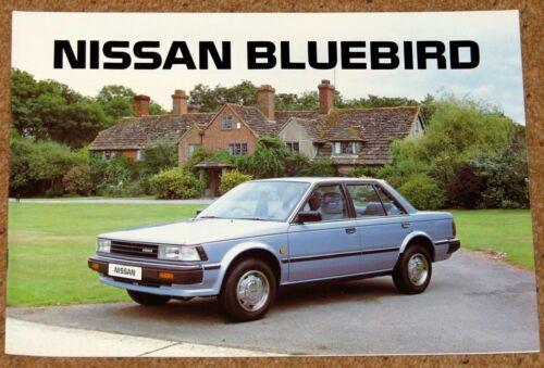 1985 NISSAN BLUEBIRD SALES BROCHURE-Saloon Estate ZX Turbo-NEW OLD STOCK!!