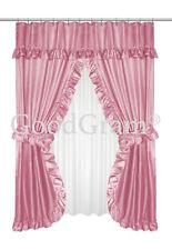 Item 1 Lauren Dobby Design Double Swag Shower Curtain Sets