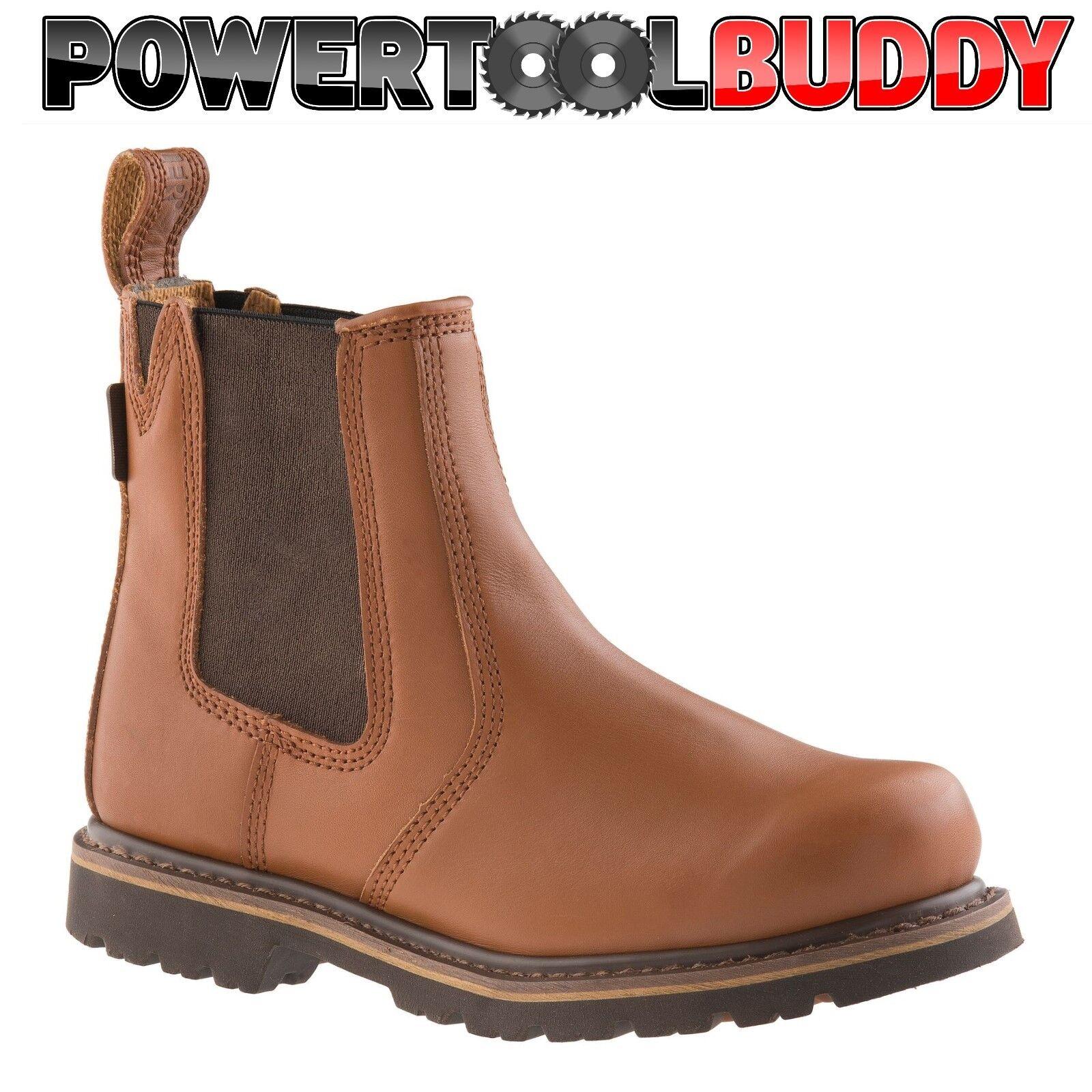 Buckler B1100 Buckflex Sundance Tan Oil Leather non safety K2 Sole dealer boot