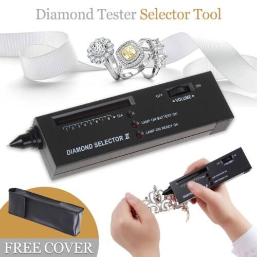 LED Audio Diamond Jewelry Tester Gemstone Authentication Selector Test Tool