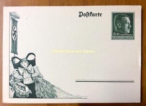 EBS-Germany-1938-Postal-Card-6-19-Pf-Harvest-Festival-Erntedankfest-P273
