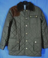 M// L #92 NWT Polo Ralph Lauren BOYS QUILTED CORDUROY COAT JACKET //NAVY