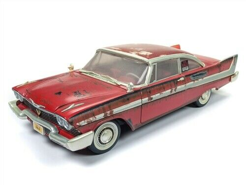 1958 Plymouth Fury Dirty Version CHRISTINE 1:18 Scale by Auto World