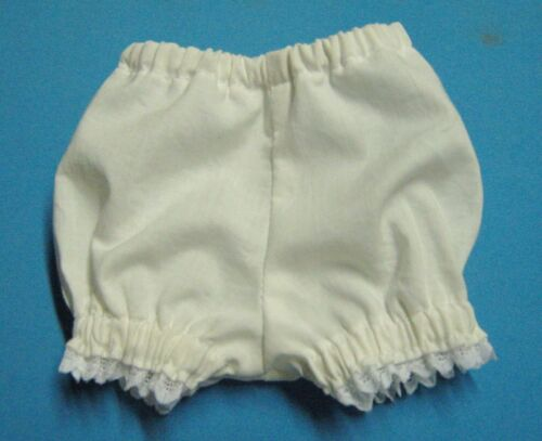 """WHITE COTTON PANTIES-for 15/""""  MY FRIEND MANDY DOLL"""