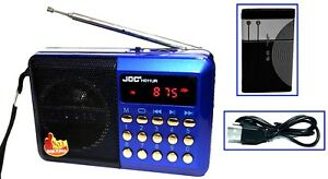 Kuechenradio-Lautsprecher-Akku-Mini-Box-Musikbox-FM-Radio-MP3-Player-USB-SD-Aux-3