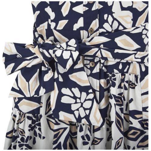 DIANE VON FURSTENBERG DVF Printed Scarlet Tie Waist Waist Waist Shirtdress- NWT  398 Sz 2 d15d90