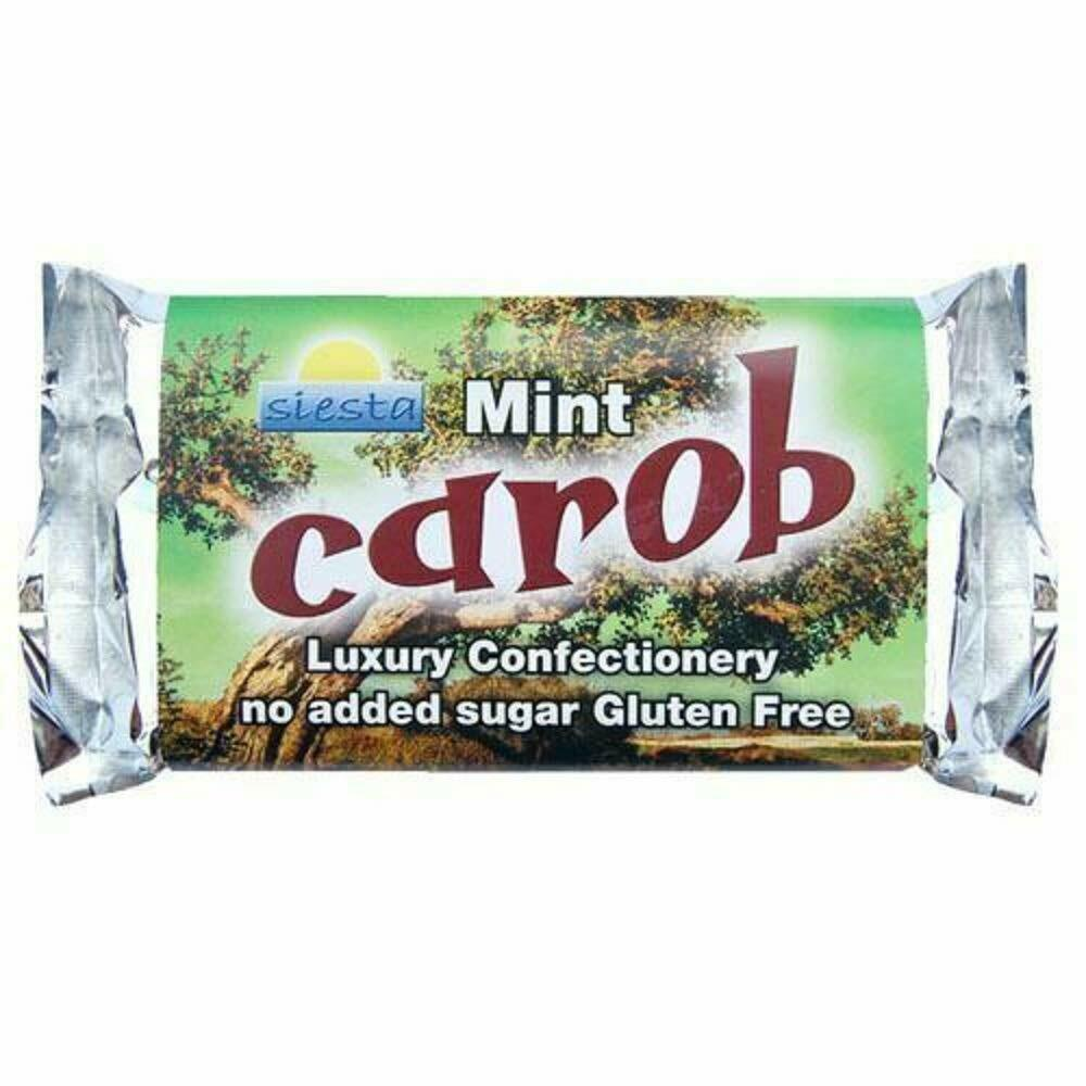 Image 1 - Siesta-Peppermint-Carob-Bar-No-Added-Sugar-6-x-50g