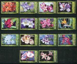 Infatigable Bahamas 2006 Fleurs Plantes Fleurs Flowers Blossoms Plants 1257-1270 Neuf Sans Charnière-afficher Le Titre D'origine Une Gamme ComplèTe De SpéCifications