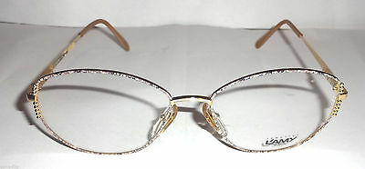 Glasses Vintage Made In Italy Occhiale Vista Lunettes L'amy Gislaine F Cm21 L845 Alta Sicurezza