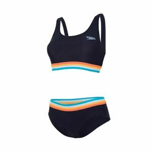 Orange Placement U-Back 2 Piece Speedo Women/'s Swim