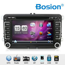 AUTORADIO FÜR VW/SKODA/SEAT MIT GPS NAVIGATION NAVI BLUETOOTH DVD/CD USB SD MP3