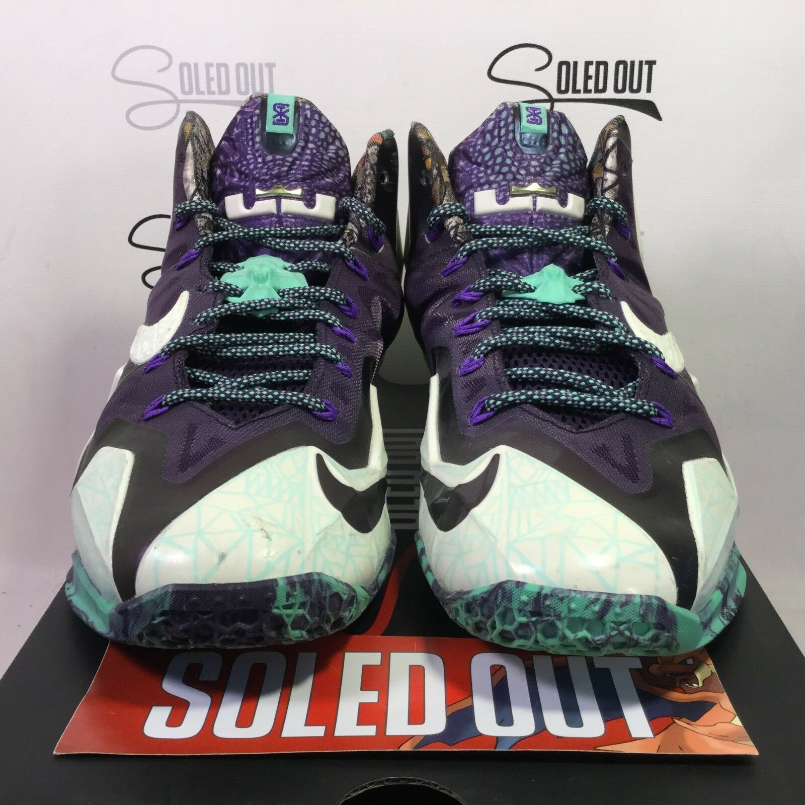 "NIKE LEBRON 11 ""GATOR KING"" 2014 ITEM NUMBER 2727-109"