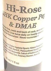 Refill-Hi-Rose-30ml-ModelSupplies-Dmae-Ghk-Copper-Peptides-Serum-Moisturizer