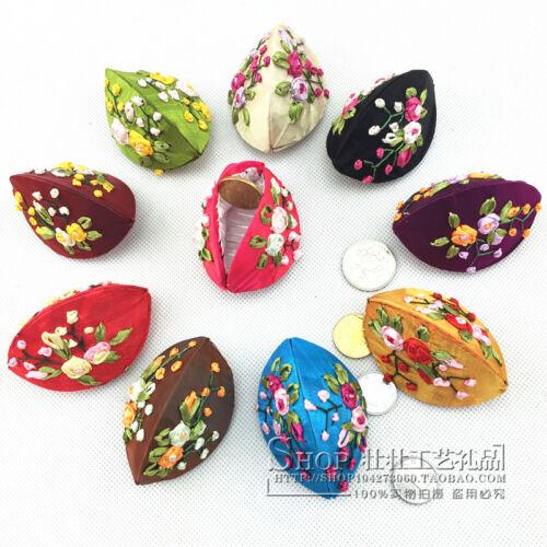 100 pcs Cute Chinese Handmade Classic Silk Ring Bracelet Jewelry Gift Box