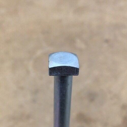 1//4 x 5 Square Head Lag Bolt Steel ZINC Blacksmith Antique 20 pcs