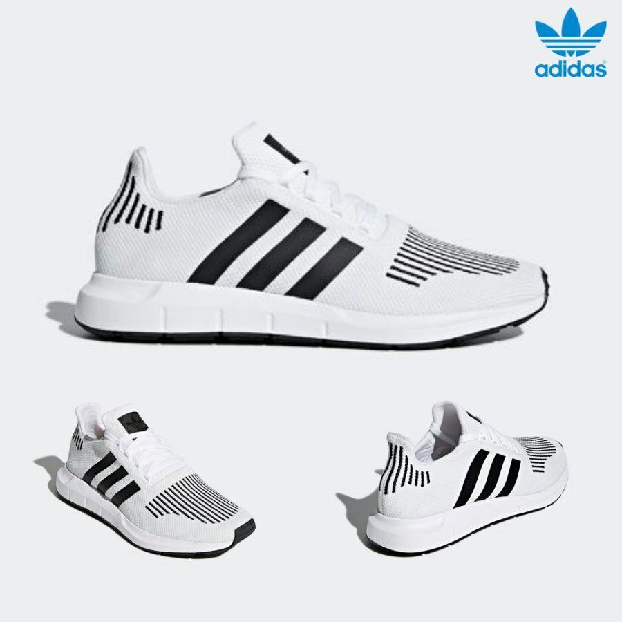 Adidas Original Swift Run shoes Runner shoes Running White Black CQ2116 SZ 4-11