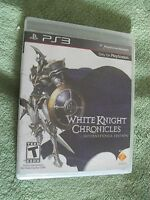 Play Station Network Ps3 White Knight Chronicles International Edition Game