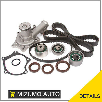 Fit 95-99 Mitsubishi Turbo Timing Belt Kit  Water Pump 4G63