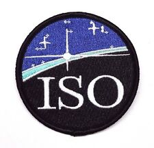 "Defying Gravity ISO Round Logo 3"" Embroidered Patch- FREE S&H (DGPA-01)"