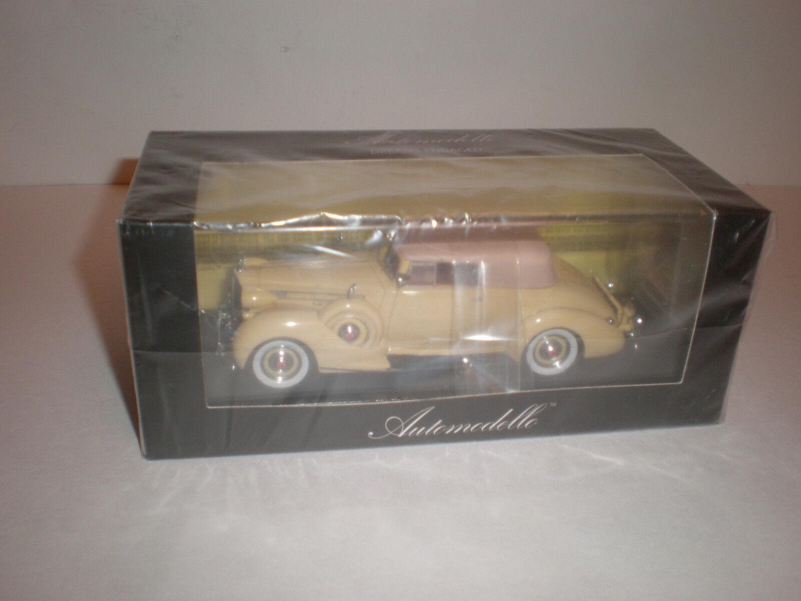 1/43 2018 Packard doce Convertible Victoria/Automodello