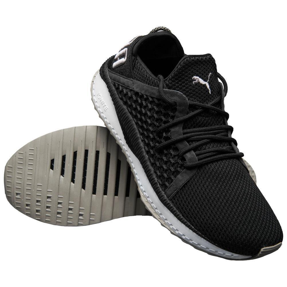 Puma TSUGI netfit scarpe da ginnastica Uomo Nero Bianco Bianco Bianco Sport da Palestra Fitness Scarpe Sportive 29bb8b