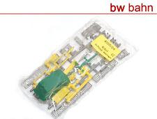 Kibri h0 kit 4100-24 cabina telefónica contenedor barandas antenas nuevo