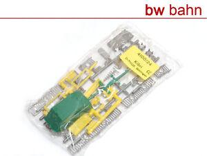Kibri-H0-Bausatz-4100-24-Telefonzelle-Container-Gelaender-Antennen-Neu