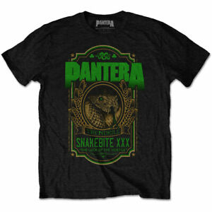 PANTERA-Snakebite-XXX-Mens-T-Shirt-Unisex-Tee-Official-Licensed-Band-Merch