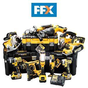 DeWalt-DCKFFX10AP4-18v-4-x-5-0Ah-XR-Li-ion-10pc-T-Stak-Kit