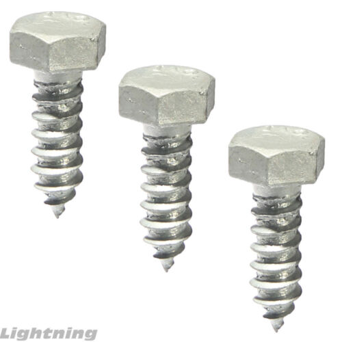 """Lag Bolt Screw Hot Dipped Galvanized A307 Alloy Steel 5//16 x 1-1//2/"""" Qty 100"""