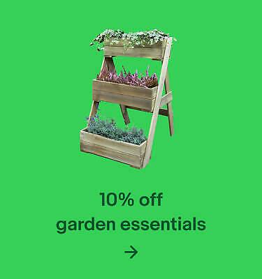 10% off garden essentials