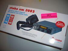 Stabo CB Mobilfunkgerät (Trucker Funk) 80 FM/AM Kanäle xm3082   - Neu und OVP -