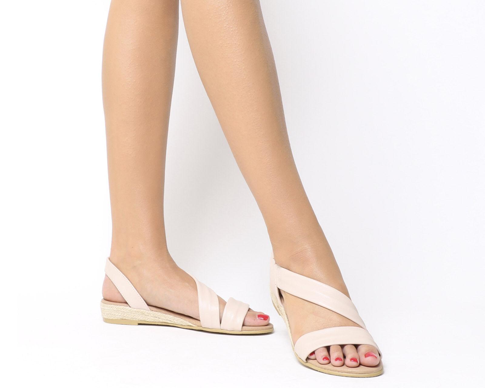 Último gran descuento Womens Office Heidi Espadrille Sandals NUDE LEATHER Sandals