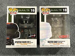 Funko-POP-HALO-Master-Chief-in-Active-Camo-Target-Spartan-Mark-V11-Damaged-Box