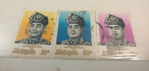 Willie-Malaysia-stamps-3pcs