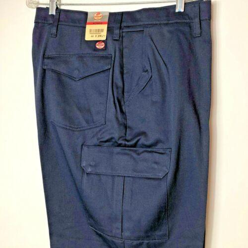 New Red Kap Men/'s 100/% Cotton Cargo Work Pant Navy Blue PC76NV