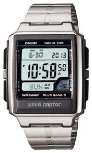 CASIO-WAVE-CEPTOR-MULTIBAND-5-WV-59DJ-1AJF-Men-039-s-Watch-Silver-F-S-w-Tracking