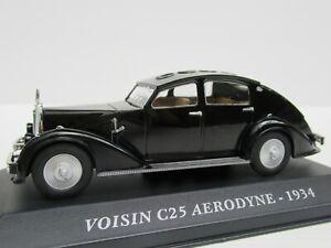 ALTAYA-Escala-1-43-Voisin-C25-aerodino-1934-frances-pasado-coche-como-IXO-Museum