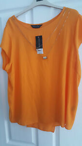 4be1c5dda14e41 Image is loading BNWT-Women-Plus-Size-Dorothy-Perkins-Top-Blouse-