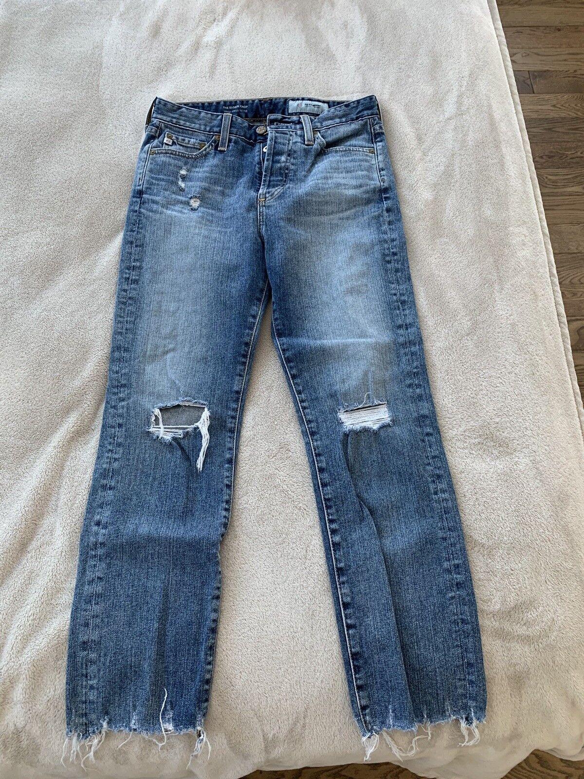 AG Sloan Crop Jeans Size 25