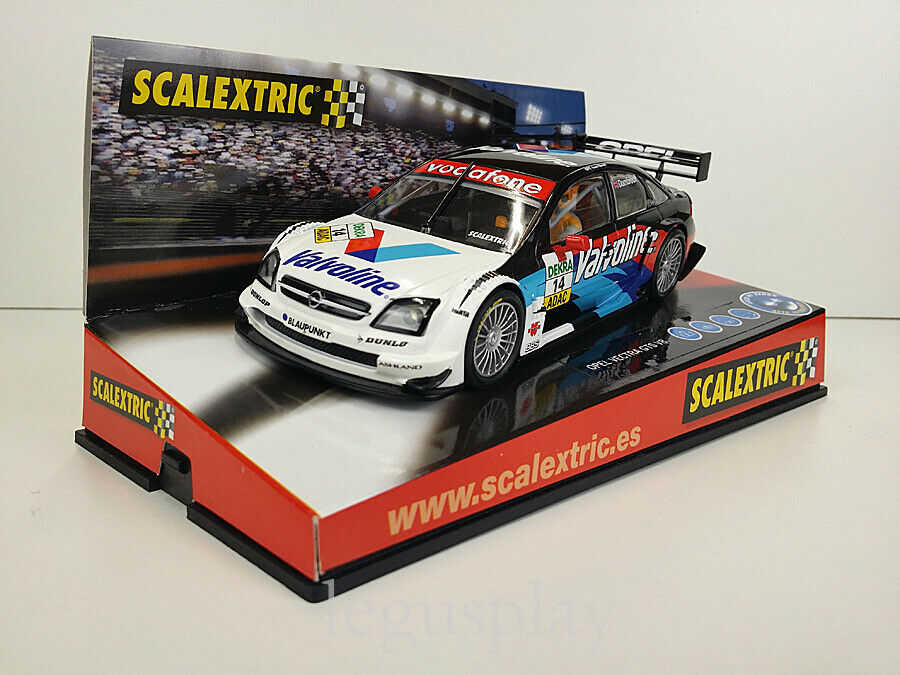 Scalextric Slot Coche SCX Scalextric 6165 Opel Vectra GTS V8 DTM  Dumbreck  Nº14