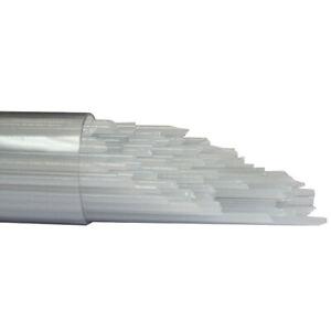 Clear 96 COE Oceanside Glass Rods